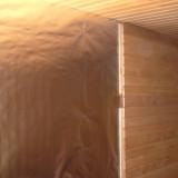 Bastufolie med barriär av aluminium och polyeten, bredd 1,25 m, längd 24 m, täcker 30 m2