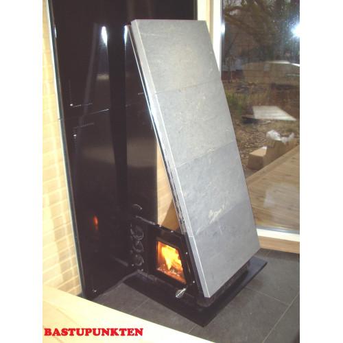 Brandskydd för bastuaggregat för vägg och golv