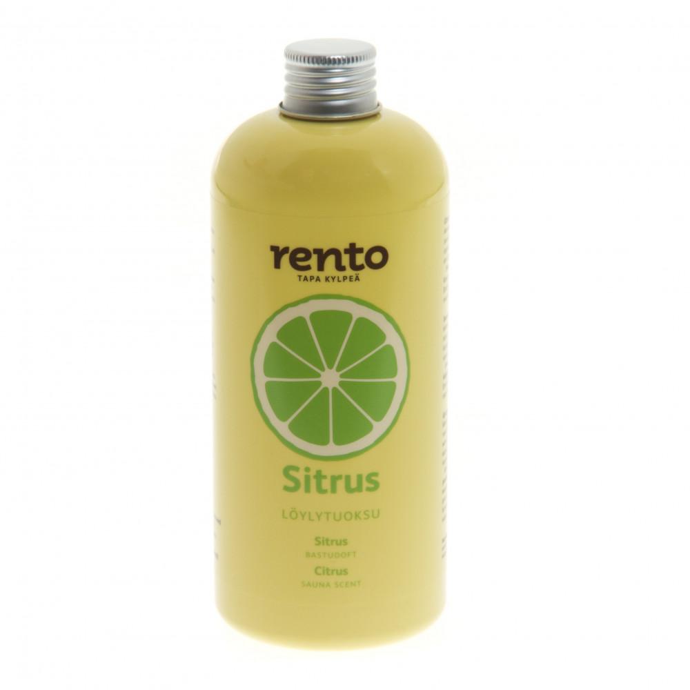 Gör bastun fräsch genom att sprida en härlig citrusdoft, tag en till två kapsyler i din bastustäva