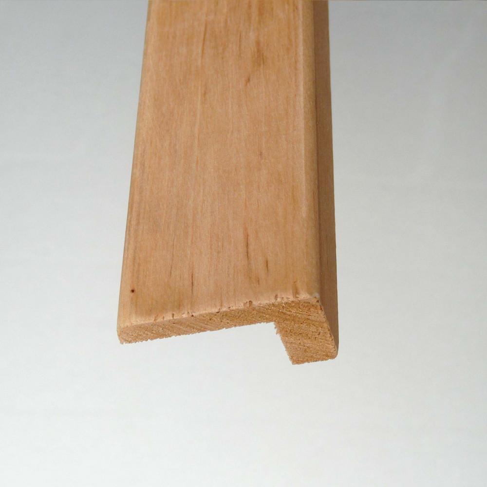 L-list i i Al lämplig för fönster och dörrar mm med 15 mm tjock panel