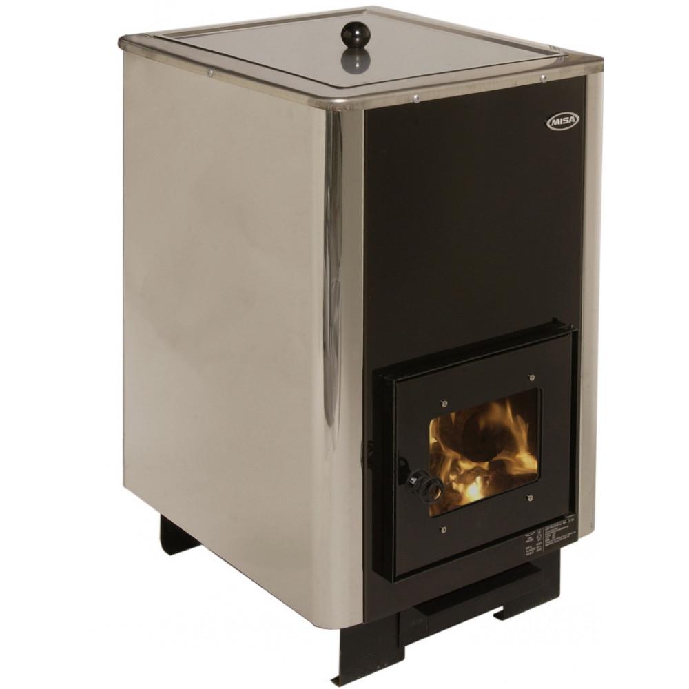 Vedeldad varmvattenberedare 50 liter