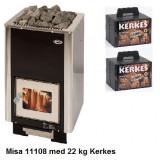 Misa 11108 med Kerkes keramiska bastustenar för skönare och hälsosammare bad