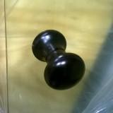 Knopphandtag svart till bastudörr