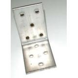 Skruvvinkel 3x63x63, B 40 mm i syrafast stål