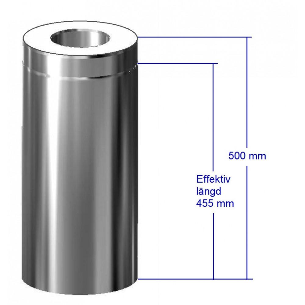 Bastuskorsten förlängning 500 mm