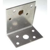 Skruv och bultvinkel, 2x40x60, B 60 mm i syrafast stål