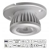 3x LED spotlight med drivdon för bastu och utomhusbruk