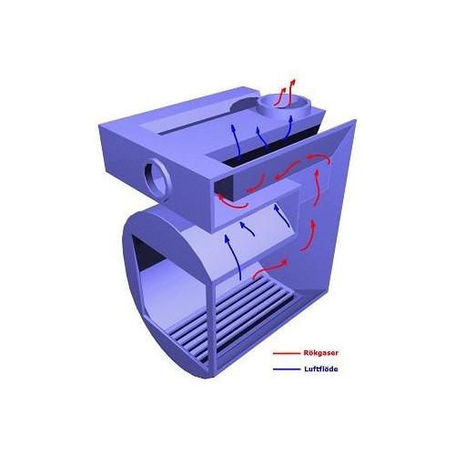 Vedeldadt bastuaggregat Misa 11208T för tunnelmontage 8-20 m3, njut av brasan i relaxen medan du eldar bastun