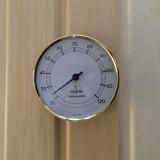 Bastutermometer, Hygrometer har samma design