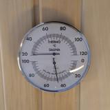 Bastutermometer och Hygrometer dia 132 framifrån