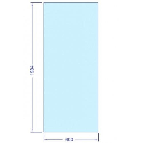 Glas 600x1984 mm