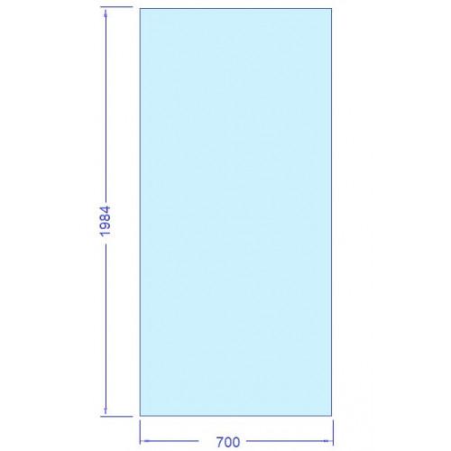 Glas 700x1984 mm