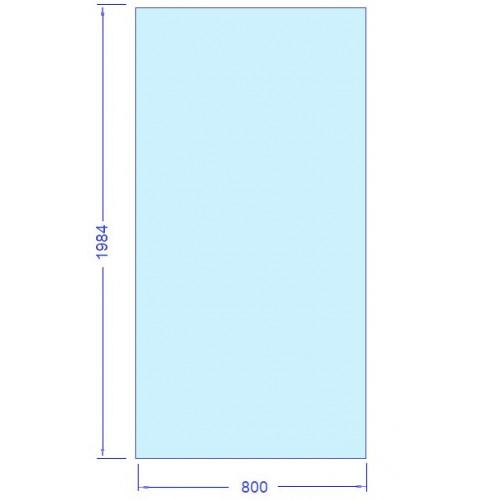 Glas 800x1984 mm