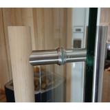 Glasdörr detalj handtag 900 mm långt