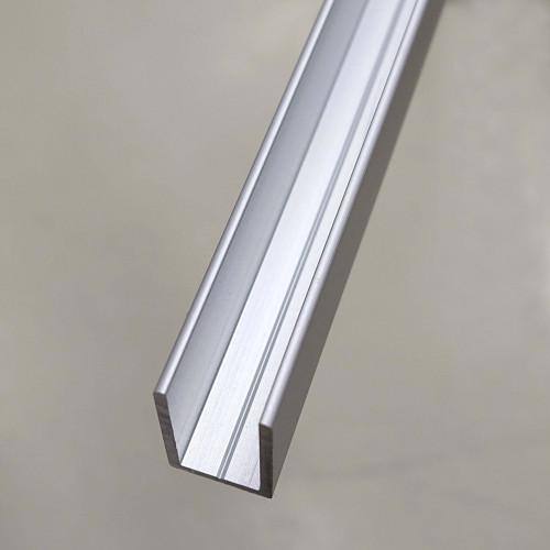 Aluminiumprofil naturanodiserad, för bastu och badrum
