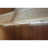 LED-list under bastulav i privat bastu