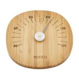 Bambustäva, skopa, termometer och borste