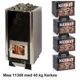 Misa 11308 med Kerkes keramiska bastustenar för skönare och hälsosammare bad