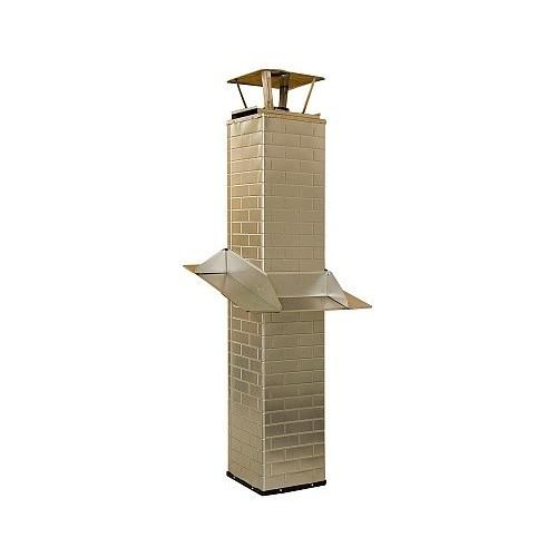 15125, Trippelmantlad skorsten 1500 mm