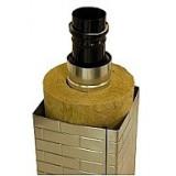 Art 15125, Kvadratisk bastuskorsten, 320x320 mm, L 1500 mm exkl startrör