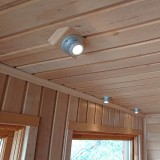 4x LED spotlight med drivdon för bastu och utomhusbruk