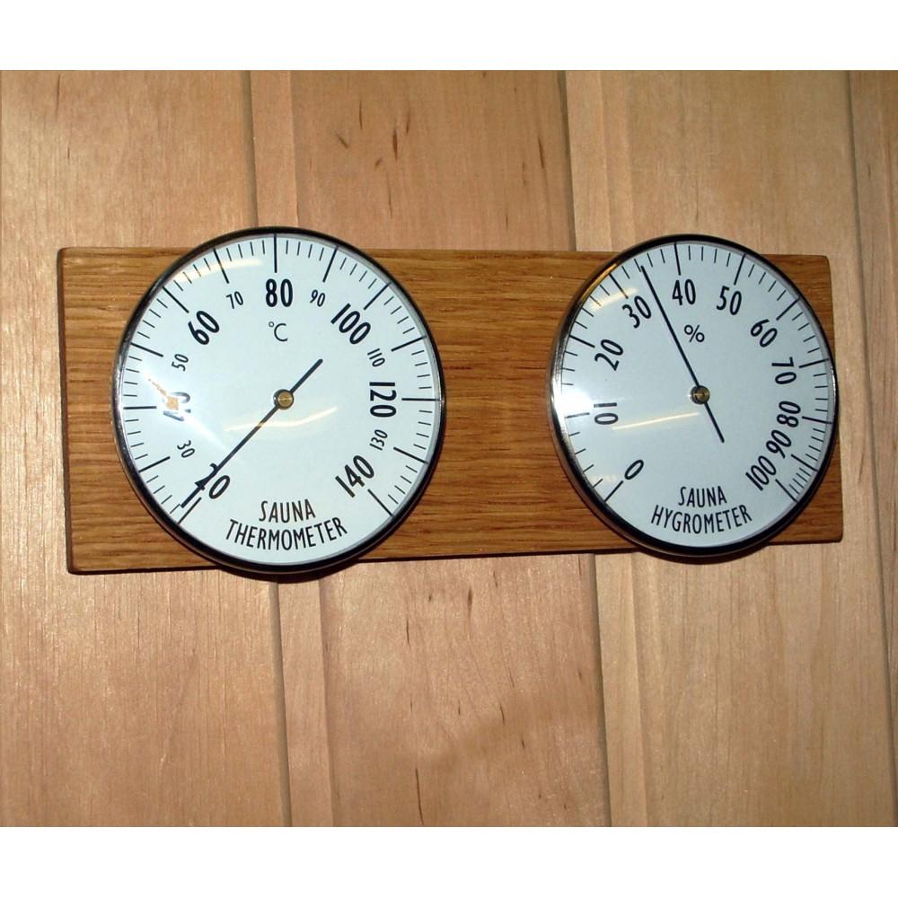 Bastutermometer och Hygrometer