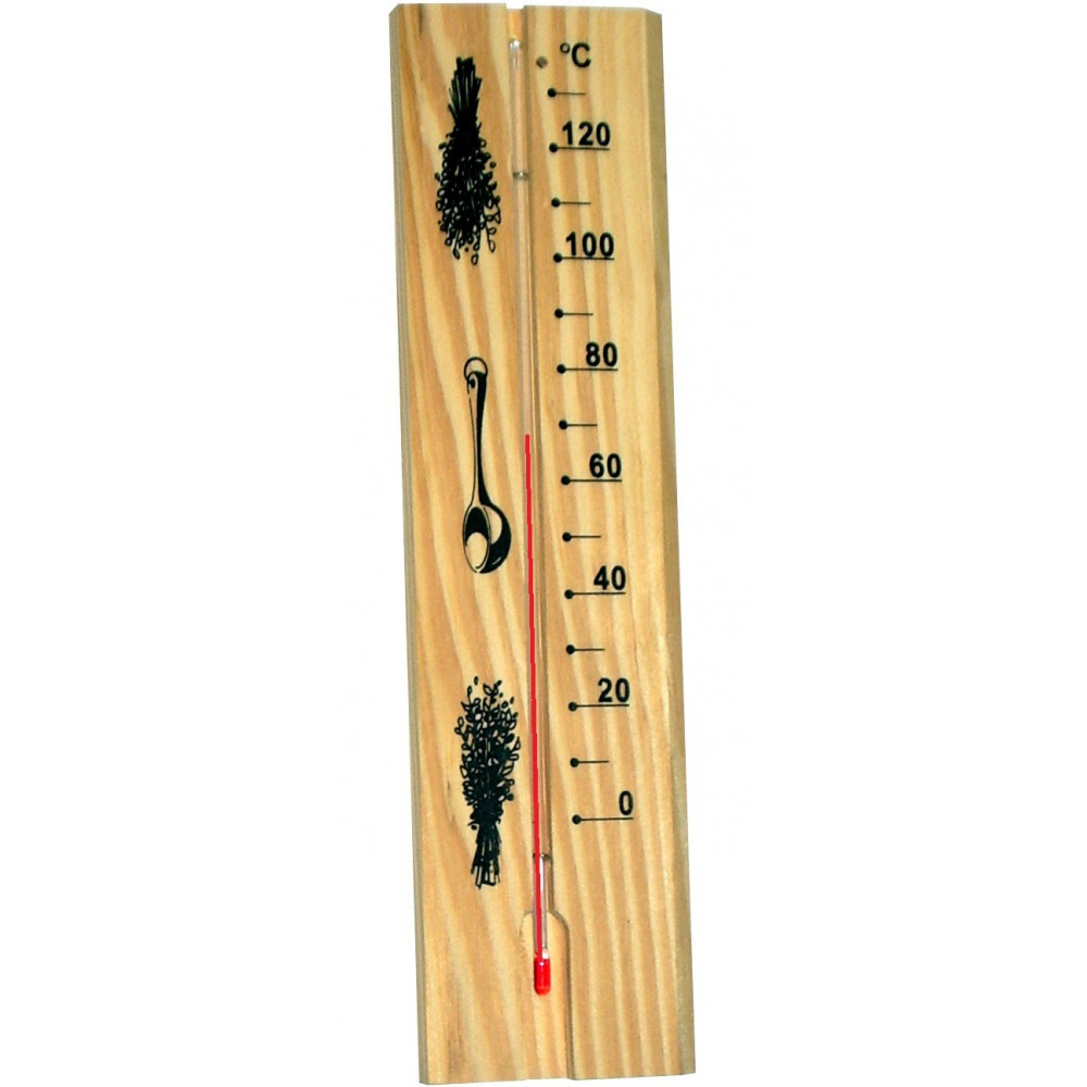 Klassisk bastutermometer som funkar bra i bastun