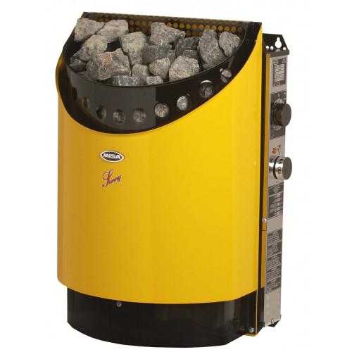 Sunny 12545GUL, 4,5 kW för bastu 3-8 m3