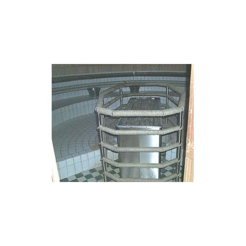 Bastuaggregat 40 kW för simhall
