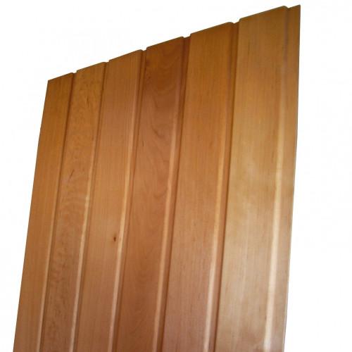 Panelblock av Al 15x90 mm, överdel