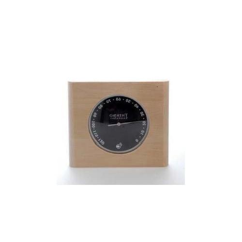 Bastutermometer med svart tavla