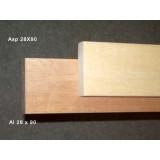 Al 28x90x2100 mm för bastulav, vacker levande och skön yta, webbpris avser en bräda
