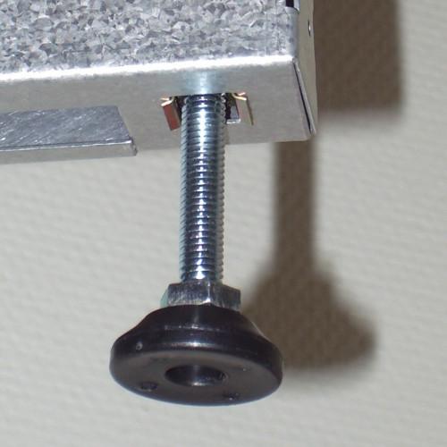 Ställfot M8x30, Längd 65 mm