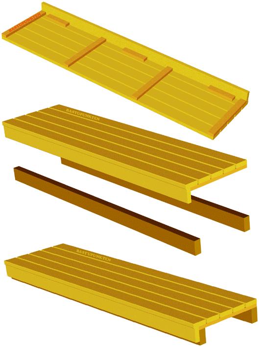 Exempel på hur man kan bygga en bastulav